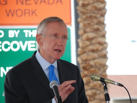 Reid and Transportation Secretary Announce High-Speed Rail Extension