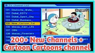 200+ neue Channel oder cartoon-Kanal DD Frei Dish Neuen Kanal jaldi jao oder hinzufügen karo DD Frei Dish mir