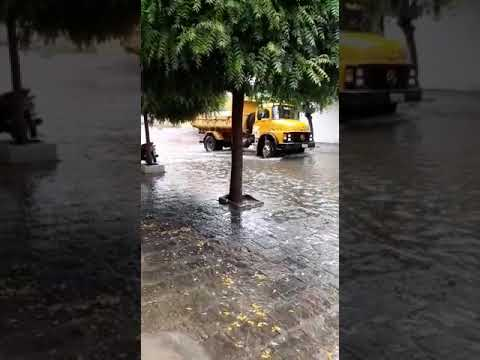 Chuva na Cidade dee Patos - PB Nesta Terça (21)