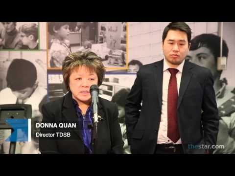 Shaun Chen and Donna Quan react to TDSB report