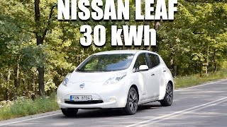 Nissan LEAF 30 kWh (ENG) - Test Drive and Review