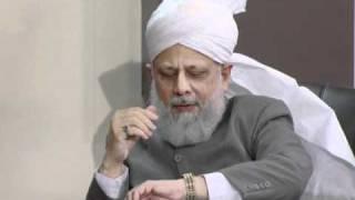 Gulshan-e-Waqfe Nau (Lajna) Class: 30th October 2010 - Part 5(Urdu)