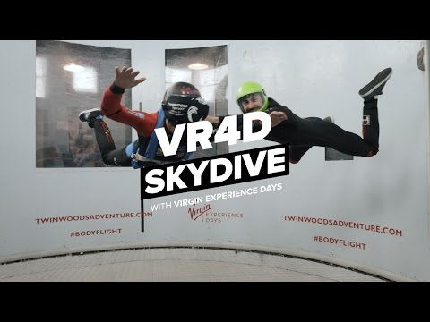 Video of VR 4D Indoor Skydive for Two