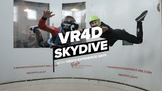 VR4D Skydiving - Interview with The Red Devils