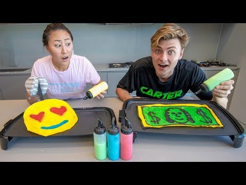 BEST PANCAKE ART WINS $10,000 (PANCAKE ART CHALLENGE)