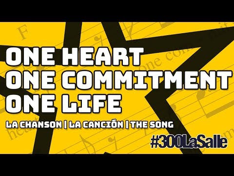 ONE HEART ONE COMMITMENT ONE LIFE #300LaSalle |