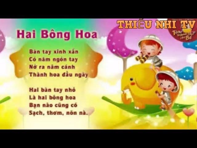 Bài thơ Hai bông hoa - Bai tho hai bong hoa - Thiếu nhi TV #1