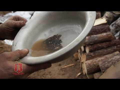 В Северо-Енисейском незаконно добывали золото