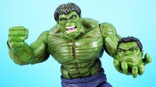 Mega Marvel Avengers Unboxing! - Hulk, Thanos, Spiderman und mehr! | Action Figuren Sammlung