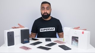 Top 5 BEST Smartphones of 2016(Which 2016 Smartphones are the BEST overall? Here are my Top 5 smartphones for 2016! ▻▻▻ dbrand skins: http://dbrand.com/SuperSaf Subscribe for more ..., 2016-12-05T13:57:56.000Z)
