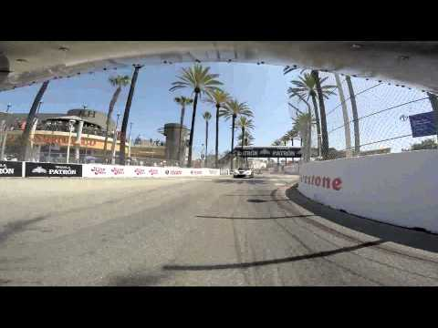 2015 Long Beach Grand Prix - Mothers Exotic Car Show hot parade lap - Rear View