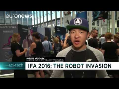 Home robots all the rage at IFA in Berlin/NEWS