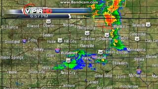 KAKE 10 News Weather Radar (5/27/13)