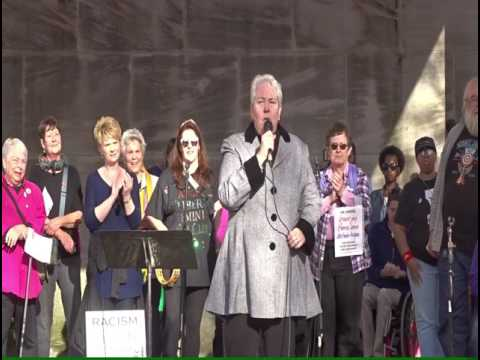 Rep  Pat Todd, Womens March on Washington-Birmingham