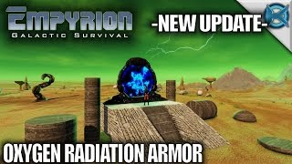 Empyrion Galactic Survival | New Update Armor & More | Let's Play Empyrion Gameplay | S11E01