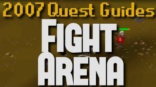 Runescape 2007 Quest Guides: Fight Arena