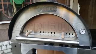 Montaggio dettagliato del forno a legna da esterno Cibus AgriEuro