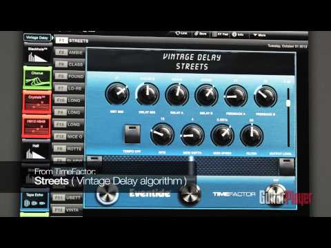 Barry Cleveland Demos the Eventide H9 Harmonizer and H9 Control Software Interface