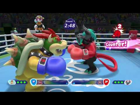 Mario & Sonic at the Rio 2016 Olympic Games (Wii U) 10 Minute Gameplay