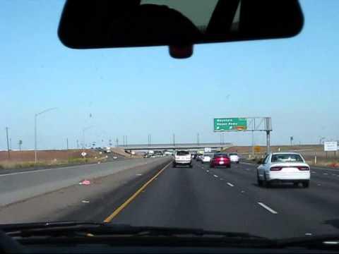 A Time Lapse Traveling From San Jose, CA to Stockton, CA May 2, 2011