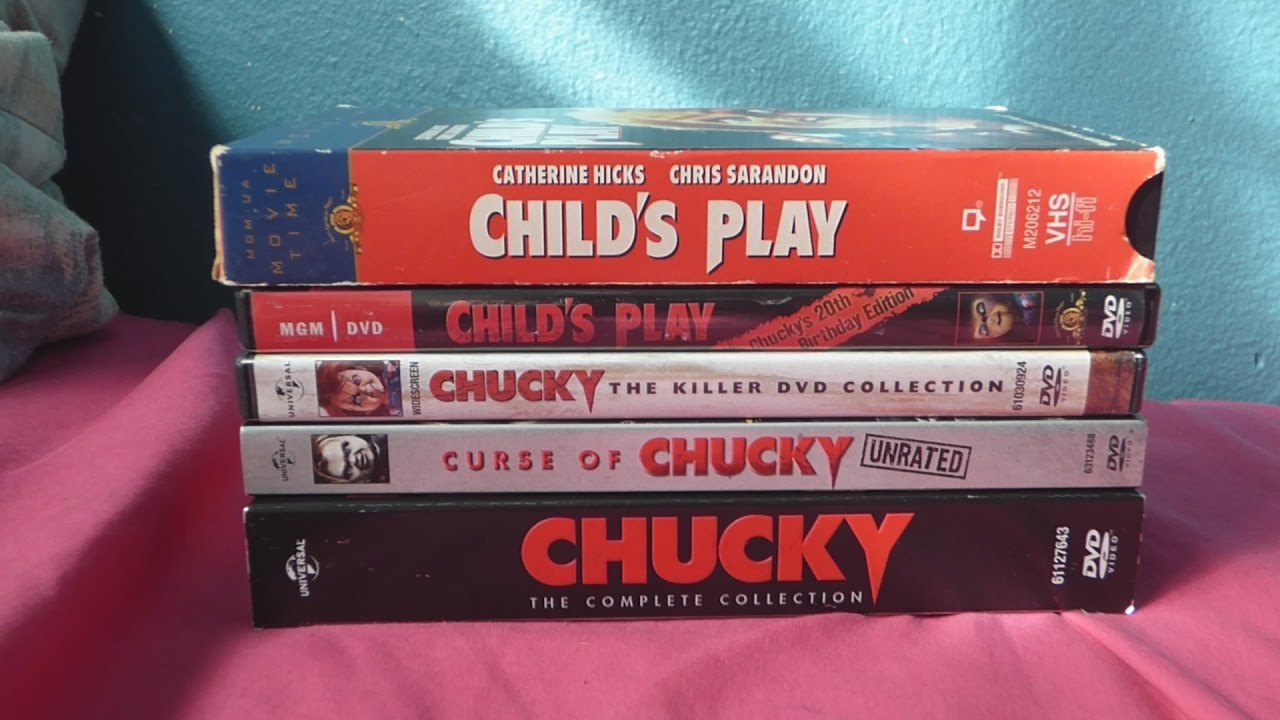 My Chucky Movie Collection - YouTube