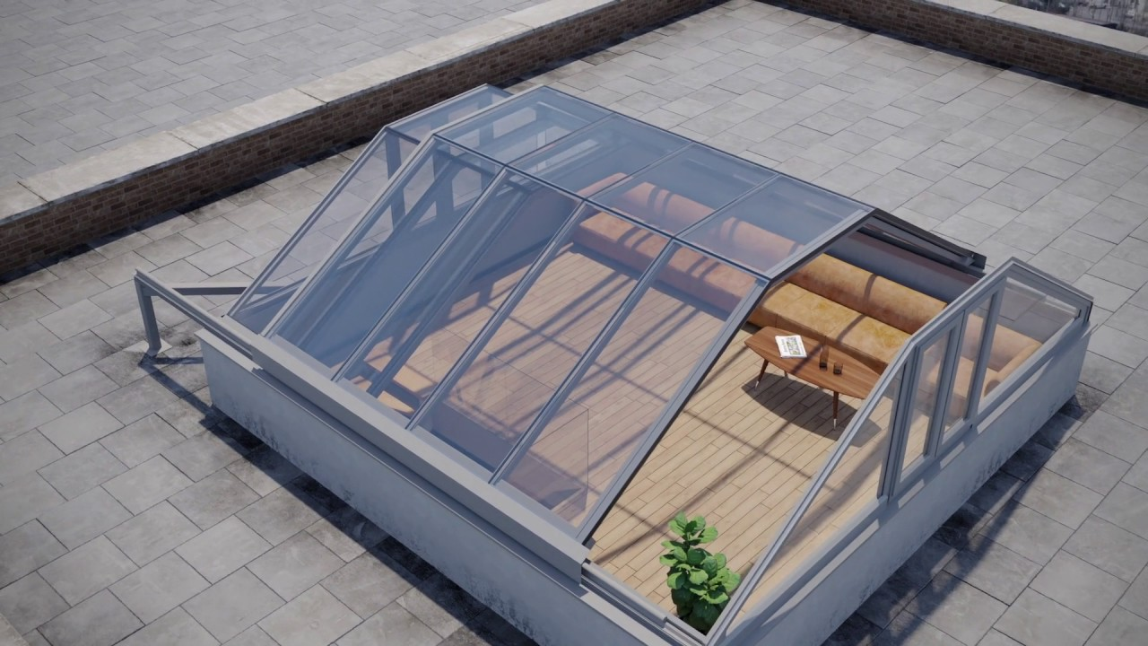 Digital Concept Video Kensington Penthouse Sliding Rooftop Youtube
