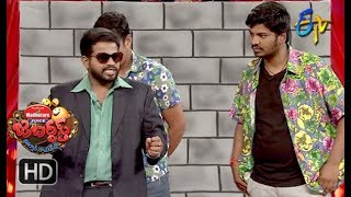 Hyper Aadi, Raising Raju Performance | Jabardasth | 19th April 2018 | ETV  Telugu