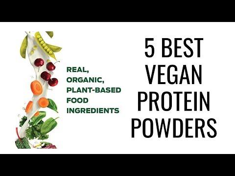 5 Best Vegan Protein Powders