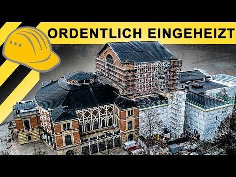 Ordentlich eingeheizt! Sanierung Wagner Festspielhaus Jobreport | Zeppelin Rental ON THE JOB