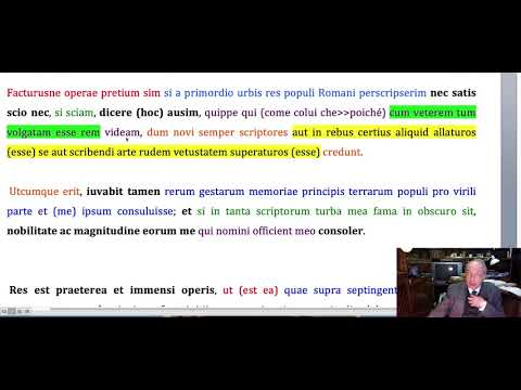 Praefatio, Ab Urbe Condita, Tito Livio