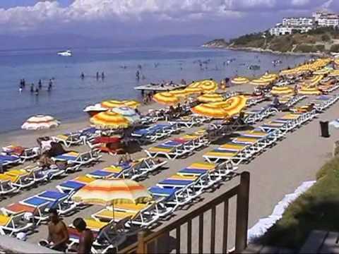 Plaza Ladies beach, Kusadasi, Turkey.avi