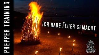 Prepper - Ich habe Feuer gemacht | German HD 1080p