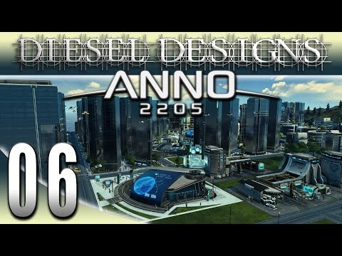 Anno 2205 Gameplay: EP6: Luxury Food & Skyscrapers ! (Futuristic City Building Series 1080p)