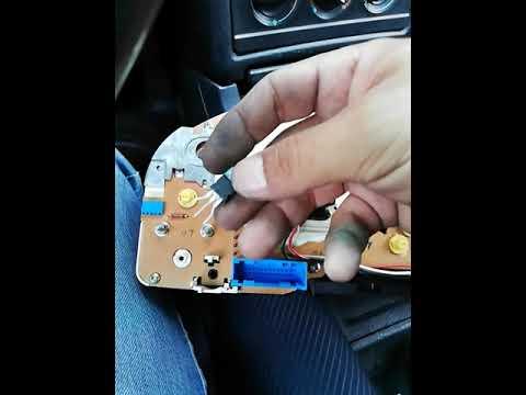 Ауди 80 б4 2.0 замена транзистора на щитке прибор №1