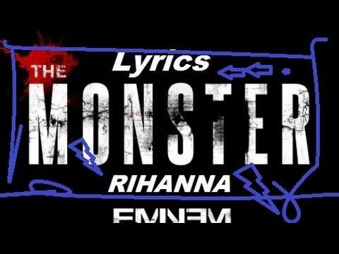 Eminem - The Monster -  (Explicit) ft. Rihanna Lyrics