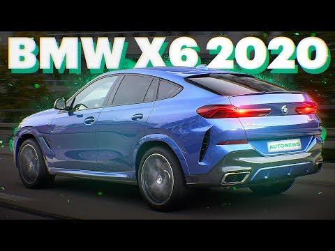 БМВ Х6 скопировали с Мерседеса? BMW X6 G06 (обзор и тест-драйв)