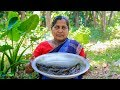 Taki Fish Cooking: Spotted Snakehead Fish Gravy Recipe in Village | Village Cooking Recipe