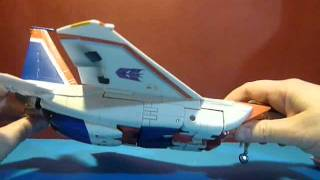 [FRENCH] Review Starscream Masterpiece : transformation et mode avion