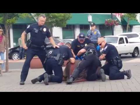 Ashland Oregon Police At Work (Arrest) - Pt. 2