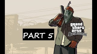 Grand Theft Auto San Andreas Walkthrough Part 5 - Running Dog & Wrong Side of the tracks