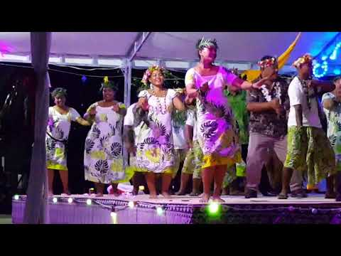 Ministry of Natural Resources Performance at Tuvalu 38th Independence Day Celebration