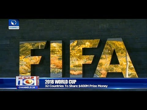 FIFA Boosts World Cup Prize Money To $400million Pt.4 |News@10| 27/10/17
