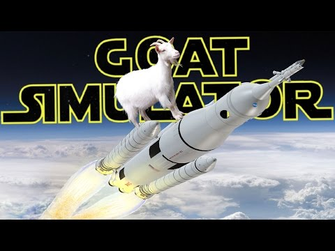 Goat Simulator: Waste of Space DLC - Ep. 1 - Goat in Space! - Goat Simulator Waste of Space Gameplay