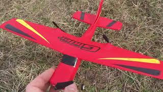 как сделать самодельный самолет видео на пульте управления