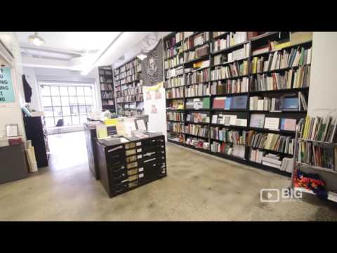 Printed Matter a Bookstore in New York selling Books and Artwork