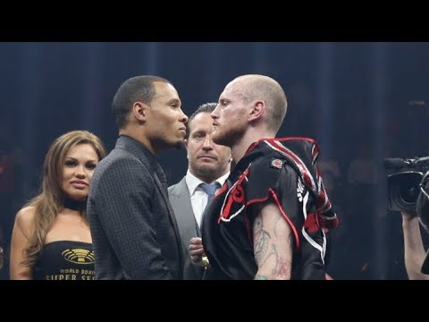 ITS ON!!! - GEORGE GROVES v CHRIS EUBANK JR - GO HEAD TO HEAD IN THE RING!