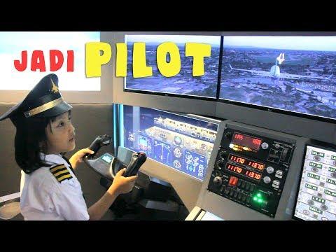 Pixel jadi Pilot terbangkan Pesawat