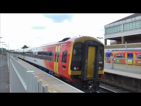 Trains, Trams and Tube @ Wimbledon Railway Station - 7th May 2016