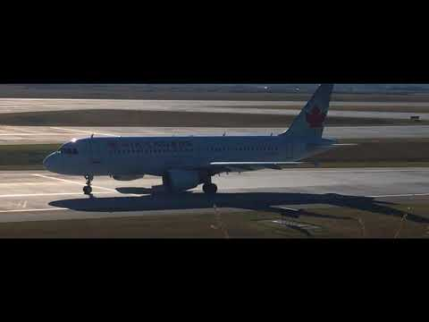 18+ Minutes Of Plane Spotting In Calgary International Airport!