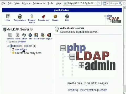 phpldapadmin windows